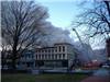 2007 Frankfort Fire Department fighting St. Clair Street fire building view
