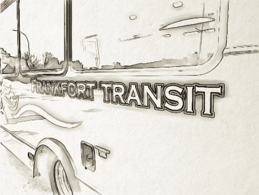 FRANKFORT TRANSIT BUS LINE DRAWING