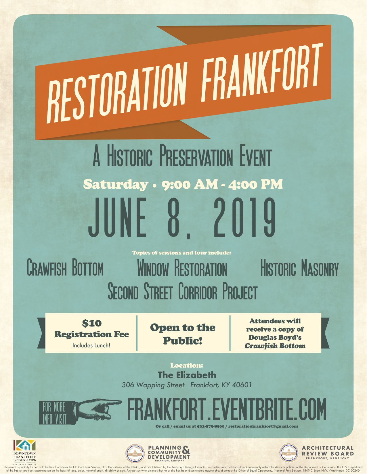 Restoration Frankfort Flyer