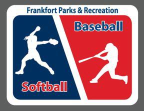 Baseball and softball logo