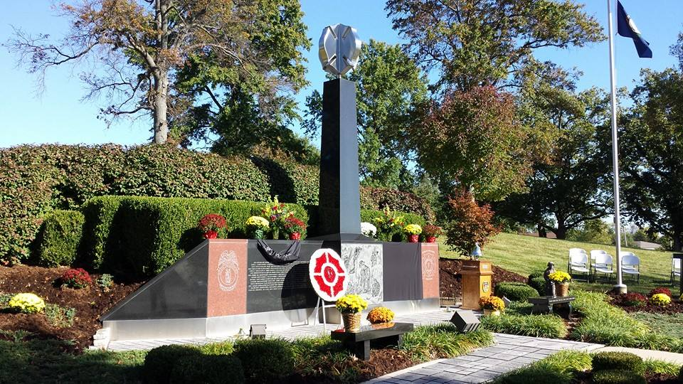 Image of Frankfort Firefighter Memorial
