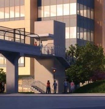 500 Mero St - Pedestrian Bridge Rendering version 2