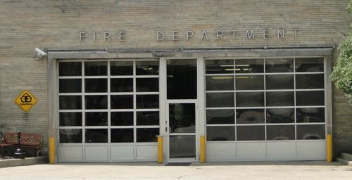 Frankfort Fire and EMS Station 1 front view